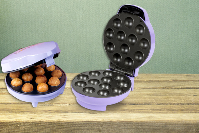 £18.99 instead of £32.95 for an electric mini donut or cake pop maker from Wowcher Direct - save 42%