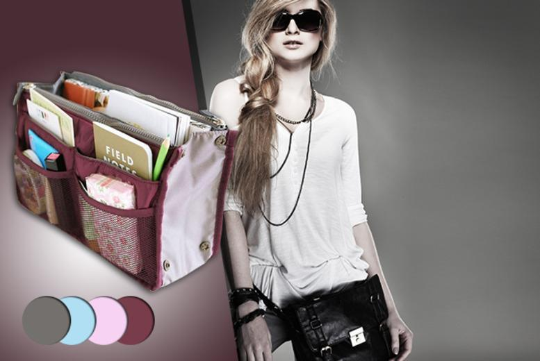 £5.99 instead of £25.99 (from Emyub) for one handbag organiser in a choice of 4 colours or £9.99 for two - save up to 77%