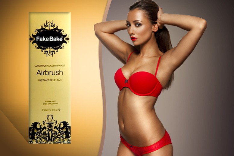 £11.99 instead of £25.96 (from Fragrances Cosmetics Perfumes) for a 210ml Fake Bake Airbrush Instant Self-Tan - save 54%