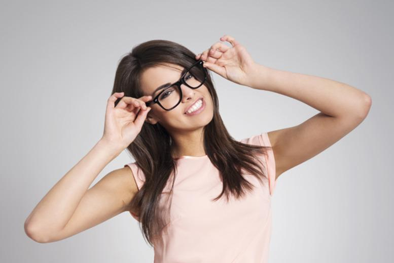 £26 for a pair of standard prescription glasses or sunglasses, or £29 for glasses plus an eye test at Eye Emporium, 12 locations - save up to 74%