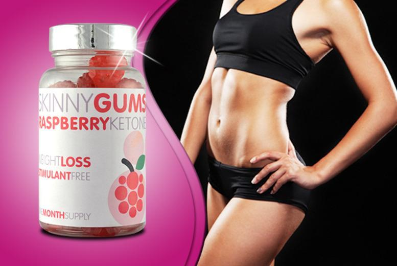 £9 (from GB Supplement) for 60 raspberry ketone 'skinny gums', or £14 for 180 - save up to 77% + DELIVERY INCLUDED