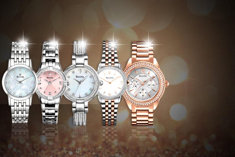 From £90 for a ladies' Bulova watch or from £140 for a men's Bulova watch from Wowcher Direct - pick from 10 stunning styles and save up to 50%