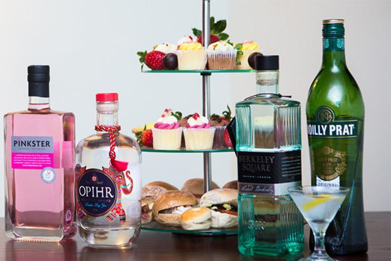 £29 for a gin tasting class and afternoon tea from Drinking Classes, valid in 21 UK locations