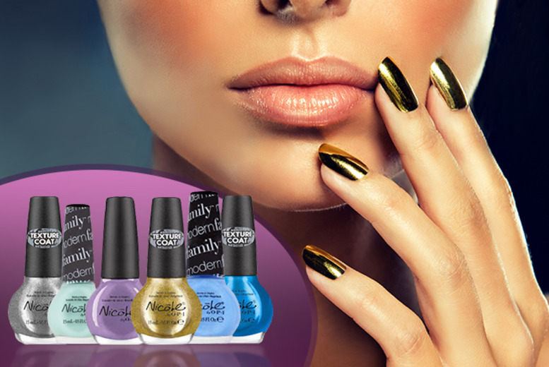 £12.99 instead of £46 (from JustShe) for 4 Nicole OPI nail polishes from a choice of 25 shades, £18.99 for 6 - save up to 72%