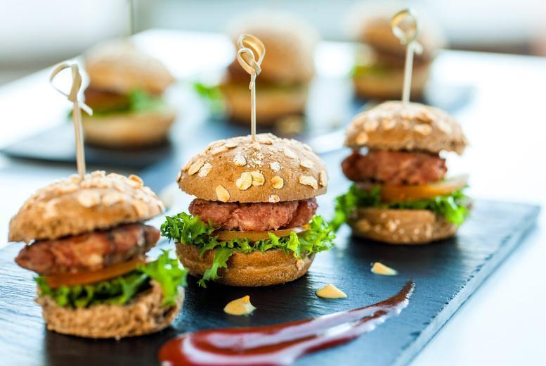 £14 instead of up to £30.45 for mini burger sliders and a 4-cocktail pitcher for two at the Jerusalem Bar and Kitchen, Fitzrovia - save up to 54%