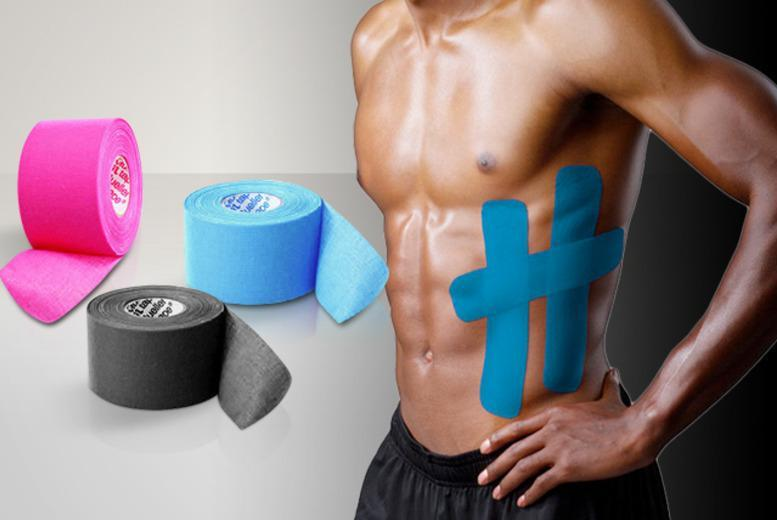 £6 instead of £13.99 (from Aneeks) for a 5-metre roll of kinesiology athletic tape in your choice of colours - save 57%
