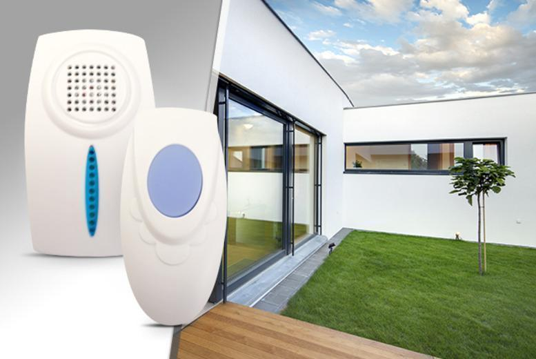 £6.99 instead of £24.99 (from Planet of Accessories) for a wireless doorbell, £12.99 for 2 - save up to 72%