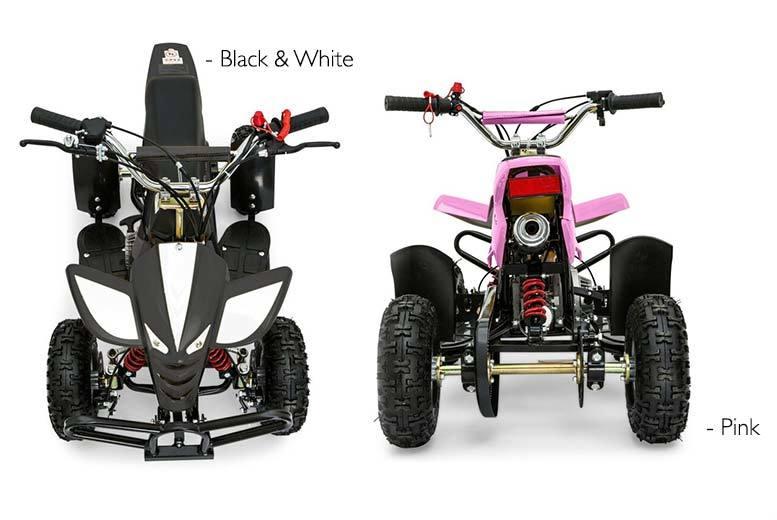 49cc mini petrol quad bike
