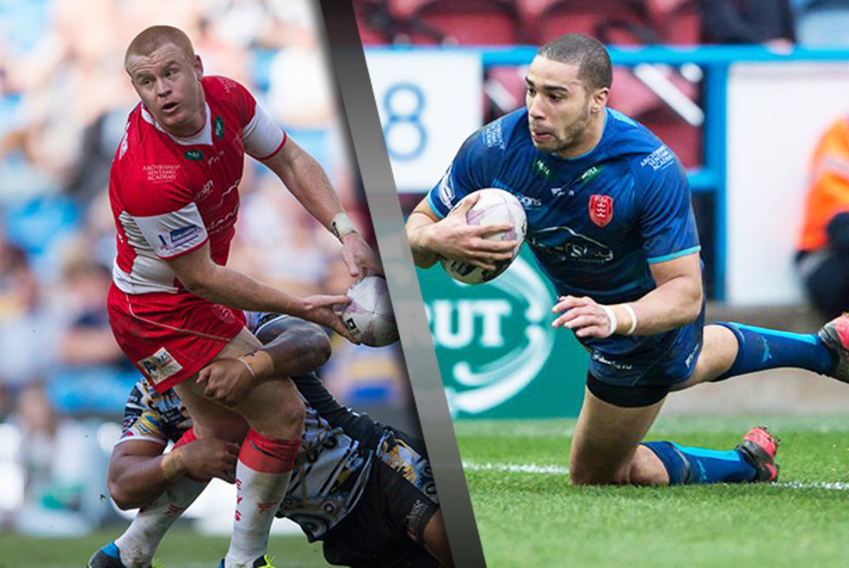 £24 for 2 adult tickets to Hull KR vs. Huddersfield Giants, £35 for a family ticket or £45 for 2 tickets including a meal & hospitality - save 48%
