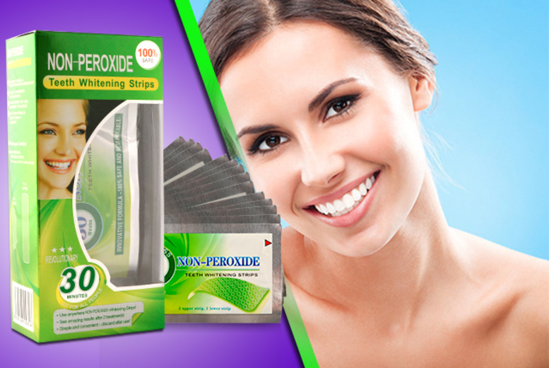 £15 instead of £39 (from DVA Beautique) for a pack of 14 WhiteNGo non-peroxide teeth whitening strips - save a pearly 62%