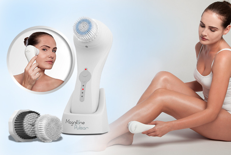 £69 instead of £126.49 (from Magnitone) for a Magnitone Pulsar skin cleansing and 'toning' brush - save 45%