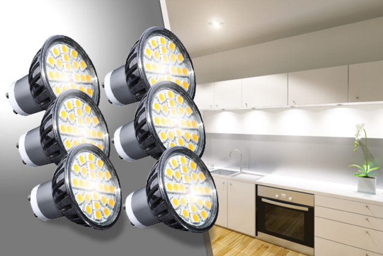 £13.99 instead of £24.15 (from Light My Life) for a pack of 3 GU10 LED spotlights, £25.99 for 6 or £47.99 for a pack of 12 - save up to 42%