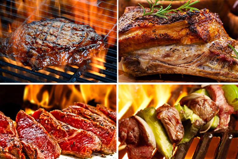£41 (from The Good Grub People) for a BBQ bundle inc. 4x rib-eye steaks, 4x rump steaks, 8x beef steak burgers and 500g sausages - save 52%