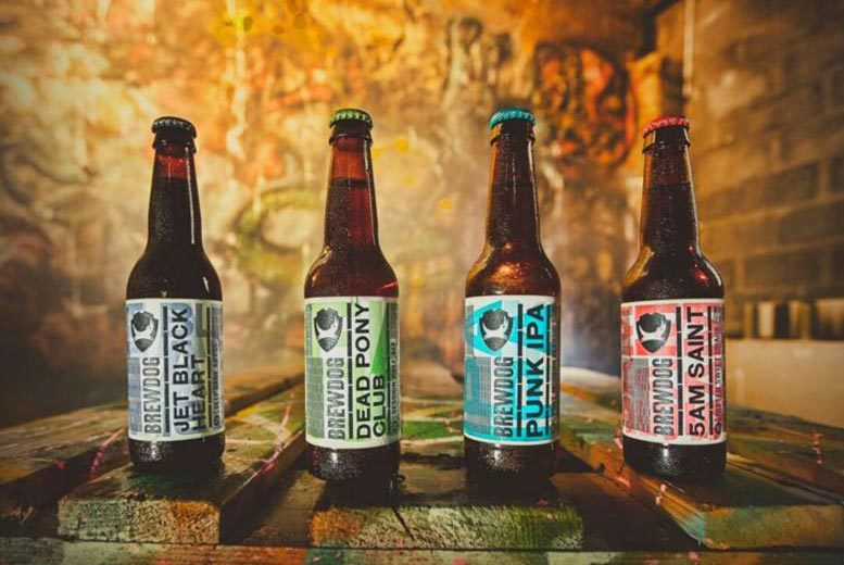 £19.99 for a tutored craft beer tasting experience for two with a selection of cheese and meats at BrewDog - choose from 28 locations and save 50%