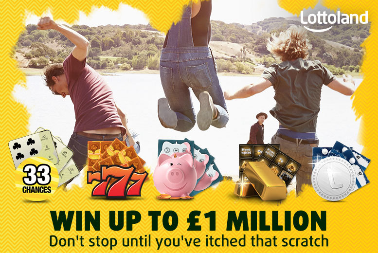 £5 instead of £15.80 for 38 scratchcards with Lottoland - try your luck and save 68%