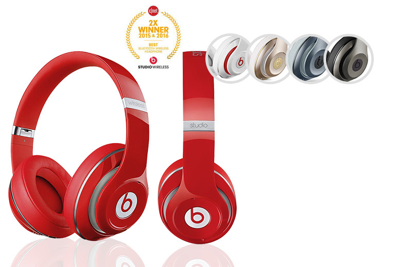 From £159 instead of £299.99 (from Spartan Outlet) for a pair of Studio 2 Beats by Dre® - choose from five colours and save up to 47%
