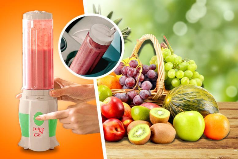 £14.99 (from Cost Mad) for a Juice 'n' Go Blender