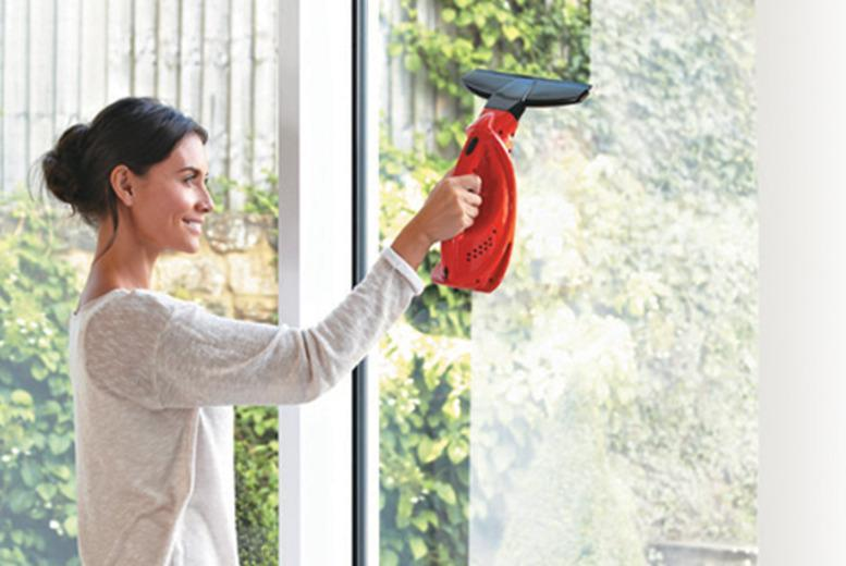 £24.99 instead of £49.99 for a handheld cordless window vacuum from Wowcher Direct - save 55%