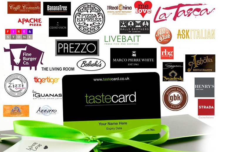 £35 instead of £79.99 (from tastecard) for a 12-month tastecard that  gives you 50% off or 2-for-1 deals at 8000+ UK restaurants - save 56%