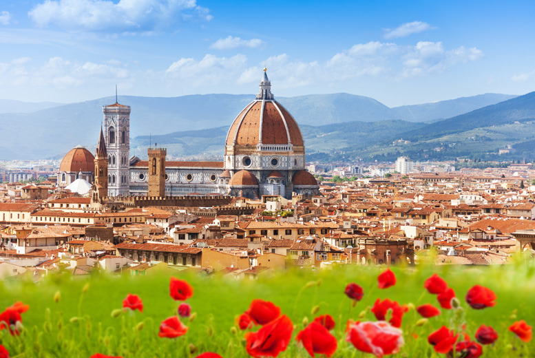 From £99pp instead of up to £129.16pp (from ClearSky) for a 2nt Florence break inc. flights & breakfast, from £119pp for 3nts – save up to 23%