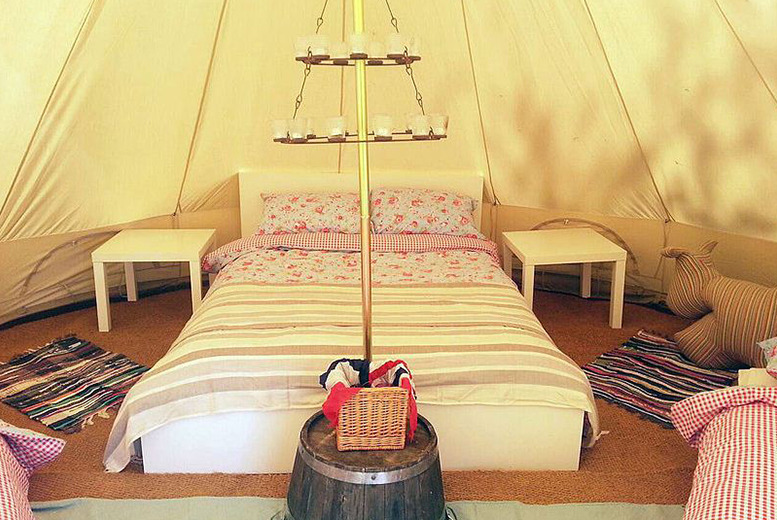 £129 instead of up to £350 (from British Bells) for 2nts luxury glamping near Colchester for 2 people, from £179 for 4 people - save up to 42%