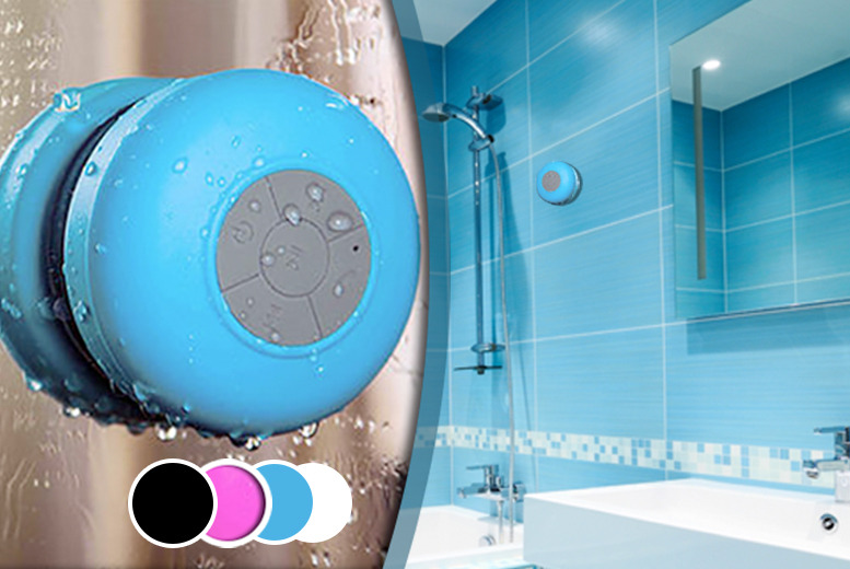 £13.99 instead of £49.99 (from Hedoo) for a Bluetooth shower speaker - choose from 4 colours and save 72%