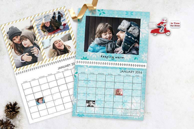 £6.99 instead of £17.50 (from Truprint) for a classic photo calendar - save 60%