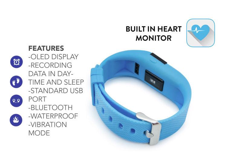 7 in 1 bluetooth activity bracelet