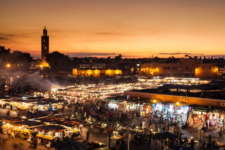From £99pp (from A1 Travel) for a 2-night Marrakech break including flights and breakfast, from £119pp for 3 nights - save