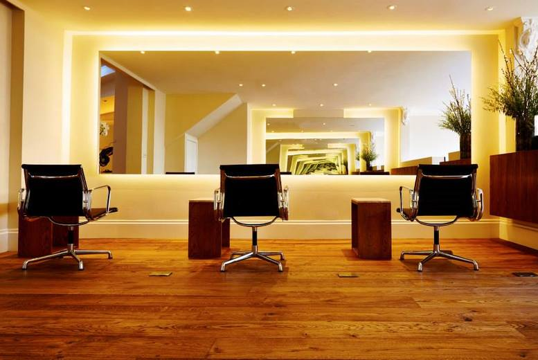 £29 for a wash, cut and blow dry, £49 for a wash, cut and blow dry by Sebastian and a glass of Champagne at Sebastian Scherrer - save up to 64%