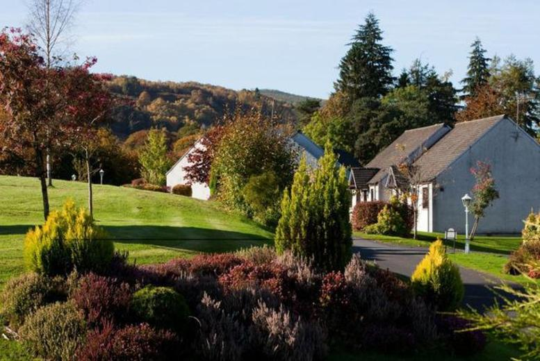 £99 instead of £229 (at Moness Resort, Perthshire) for 2nts for up to 4, £129 for up to 6,