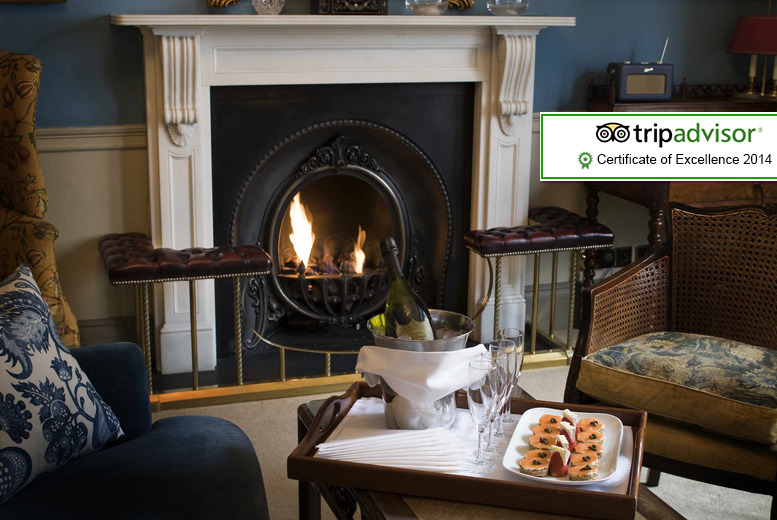 From £179 (at Cranley Hotel, Kensington) for a 1nt stay for two people inc. Champagne, canapés, afternoon tea, breakfast and late checkout - save up to 30%