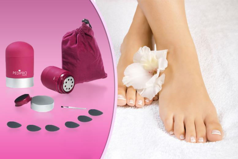£7.99 instead of £39.99 (from Quick Style) for a 7-piece Pedi Pro Deluxe home pedicure system - save 80%