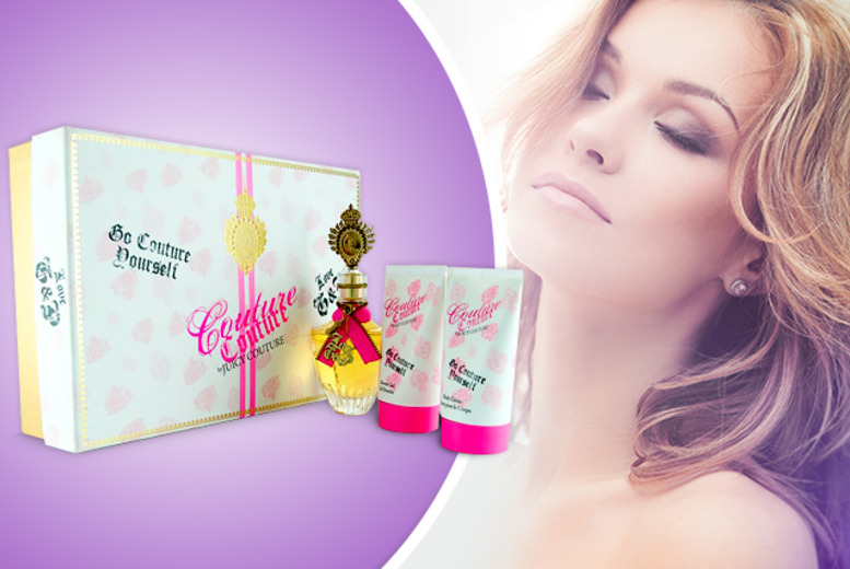 £35.99 instead of £65 (from The London Perfume Company) for a 3pc Juicy Couture set inc. EDP, body cream and shower gel - save 45% + DELIVERY INCLUDED