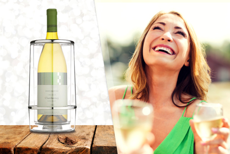 £9.99 instead of £21 (from Cost Mad) for an acrylic double-walled wine cooler - save 52%