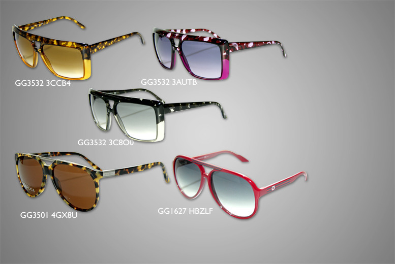£110 instead of £249.98 for a pair of Gucci designer sunglasses in a choice of 10 stylish designs from Wowcher Direct - save 56% + DELIVERY INCLUDED!