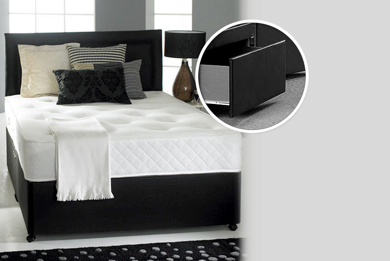 £249.95 instead of £940 (from Fishoom) for a double divan bed with a memory mattress 2 storage drawers, £279.95 for a king - save up to 79%