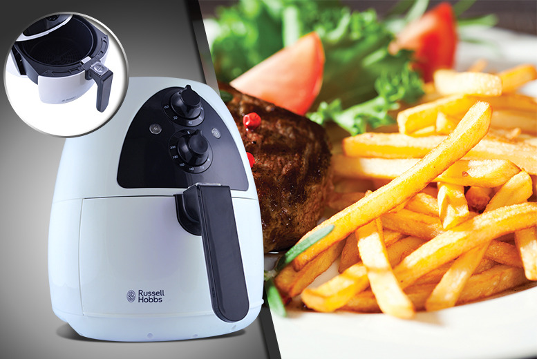 £89.99 instead of £194.01 for a Russell Hobbs Purify Health Fryer from Wowcher Direct - save 54%