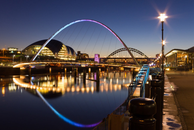 From £74 (at the Sandman Signature Hotel, Newcastle) for a 1-night stay for 2 inc. bubbly, or from £139 for a 2-night stay - save up to 56%
