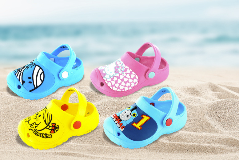 £6.99 for a pair of children's clogs in a choice of four designs, or £10.99 for two pairs from Wowcher Direct
