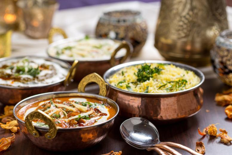 £12 for an Indian meal for 2 inc. a glass of wine each at Zazaz Restaurant, Stoke-on-Trent