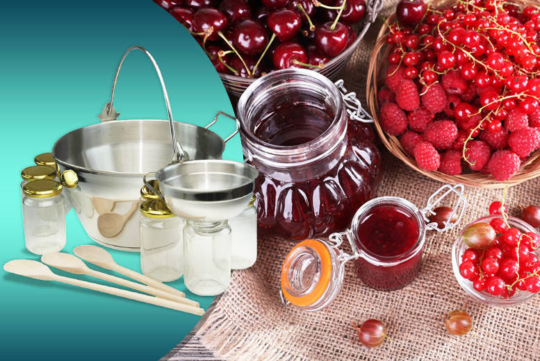 £44.99 instead of £90.01 for an Apollo jam making kit from Wowcher Direct - save a jammy 50%