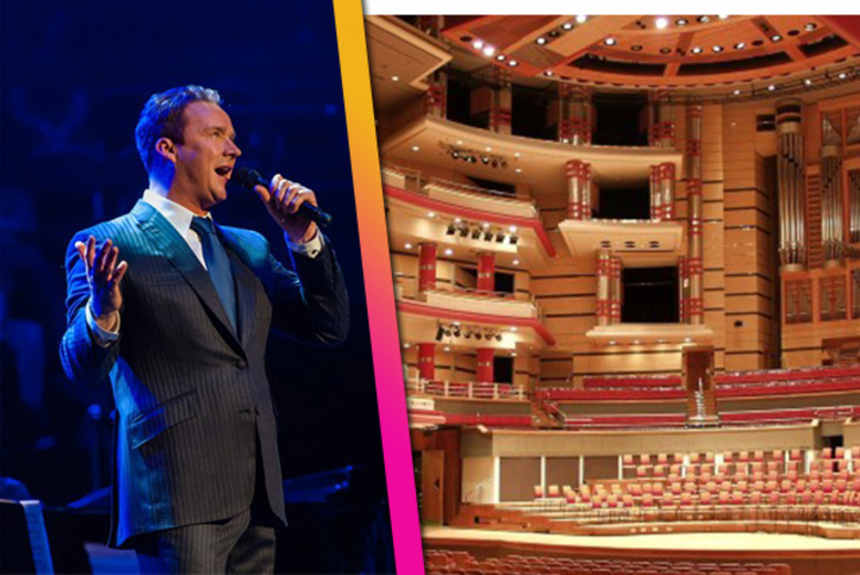 £7 for an adult ticket to see Russell Watson & AC Academy, £12 for 2 adults or £25 for 2 adults & 2 children at Symphony Hall - save up to 52%