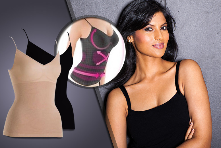 £8 instead of £39.99 (from Fizzy Peach) for a Germanium 'slimming' vest - save 80%