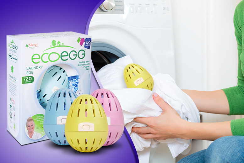 £9.99 instead of £19.99 (from Ecoegg) for a 720-wash laundry egg - save 50%
