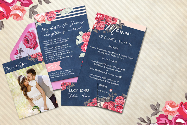 £30 instead of £60 (from Hip Hip Hooray) for a voucher to spend on party invitations, menus & more, £50 for £100 voucher - save 50%