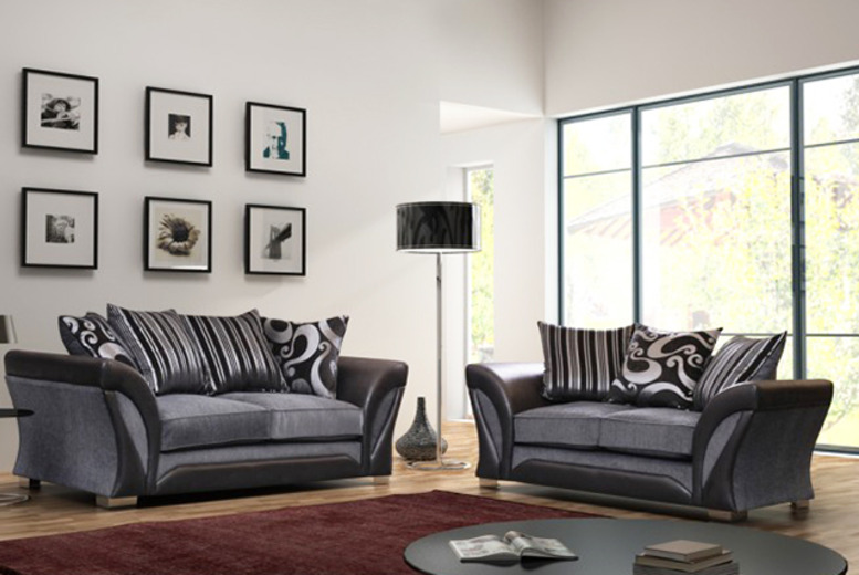 from Furniture Deals for a 2seater Farrow sofa, £299 for a 3seater