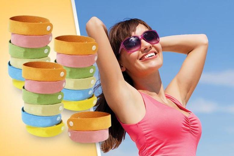 £6 instead of £44.01 (from 121 Mart) for a pack of 20 mosquito-repelling bracelets - save 86%