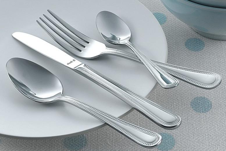 £6 instead of £24.99 (from Groundlevel) for a 16-piece beaded cutlery set, £11 for two sets - save up to 76%