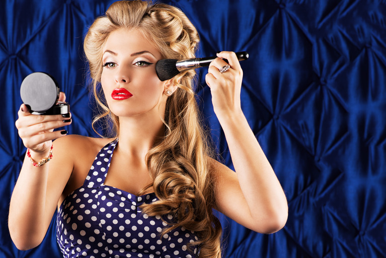 £19 instead of £250 for a 3hr vintage hair-styling masterclass, £21 for make-up, or £39 for both at Gloss Academy, Bow – save up to 92%